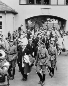 Brundage en visite à Berlin en 1934