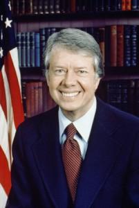 American President Jimmy Carter