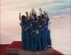 L'équipe américaine sur le toit de l'olympisme