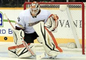 Viktor Fasth réalise des prouesses devant le filet des Ducks cette saison. (Danny Murphy/Icon SMI)