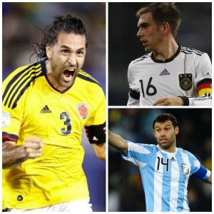 Yepes, Lahm et Mascherano ont brillé au Brésil.